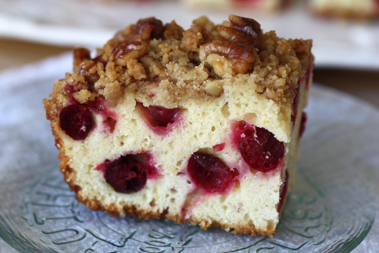 Cranberry orange walnut cake - simply fresh | convenience ...