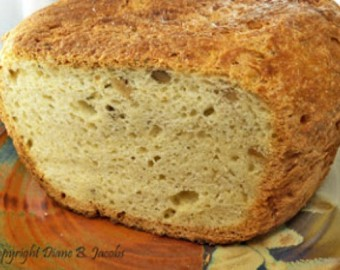 WALNUT ROSEMARY OAT BREAD