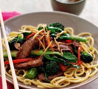 Beefy, Broccoli stir-fry