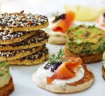 Gluten-free seedy pastry munchies