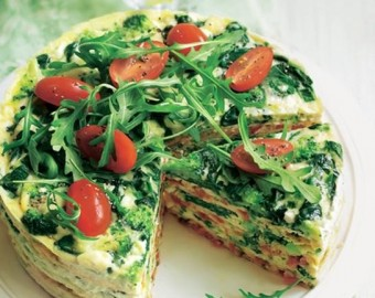 Omelette gateau
