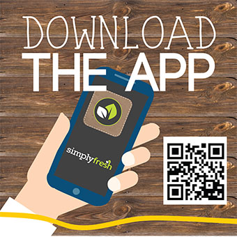 Download the Simply Fresh App