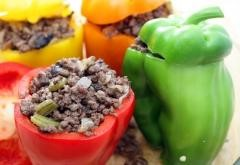 STUFFED PEPPER WITH EGGWHITE AND SAUSAGE