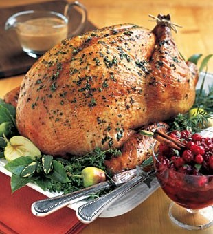 spiced and succulent roast turkey